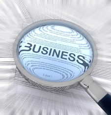 """Magnifying Glass: """"Corporate business Intelligence firm"""""""