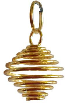 """3/4"""" Gold Plated coil"""