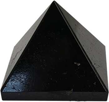 25-30mm Black Tourmaline pyramid