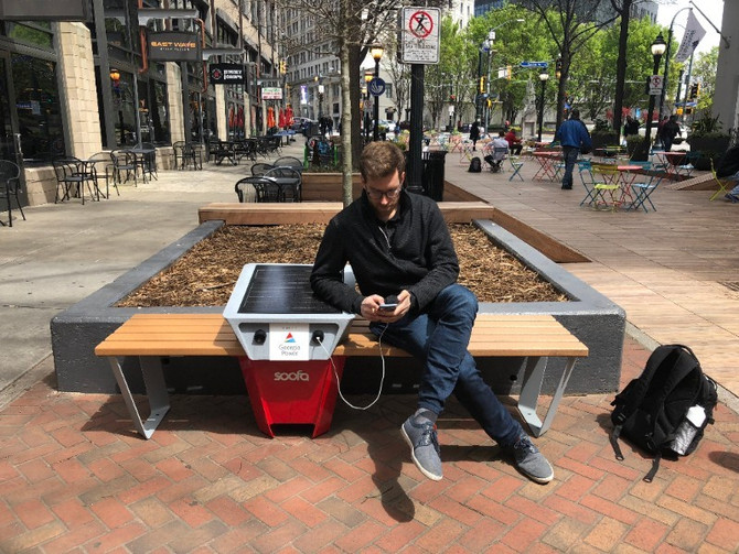#bedowntown: Introducing Soofa, the new tech on Broad Street