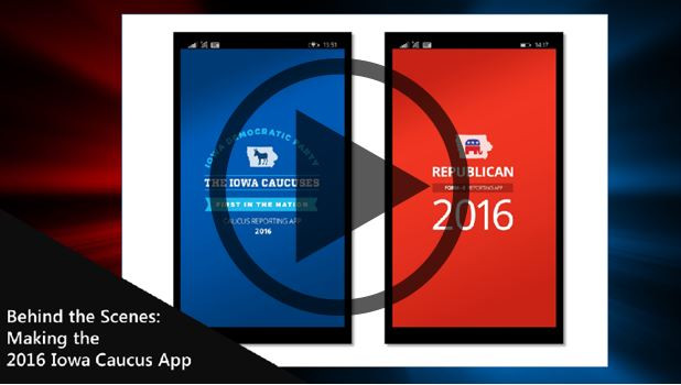 Behind the Scenes: Making the 2016 Iowa Caucus App-
