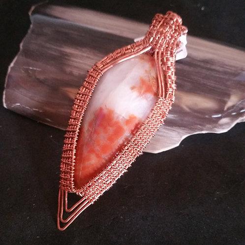 Brecciated Jasper in Copper Weave