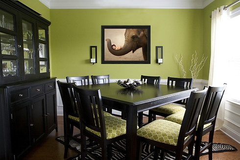 Dining room canvas print from the best McKinney newborn photography studio