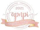 Accredited Professional Newborn Photographer 2021