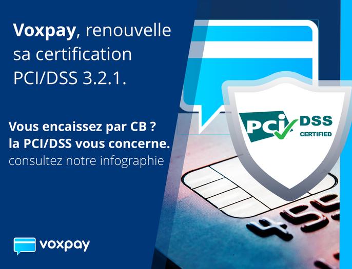 VoxPay renouvelle sa certification PCI-DSS Level 1 avec succès !