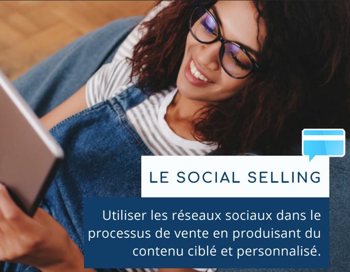 Le social selling : de la qualification du prospect au transfert du lien de paiement par messagerie