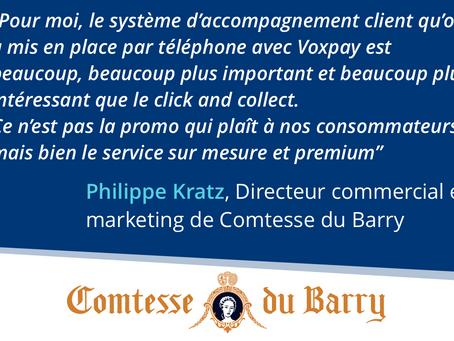 Le service client, au coeur de la stratégie de Comtesse du Barry