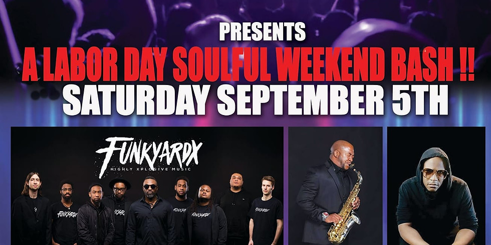Labor Day Soulful Bash Drive-In Concert Series