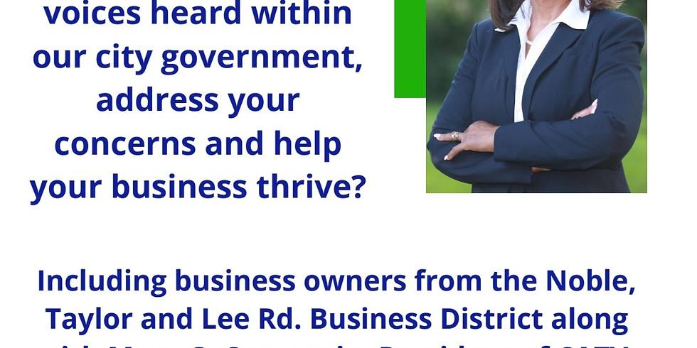You Talk, I Listen!  Community Conversation W/ Councilwoman Davida Russell