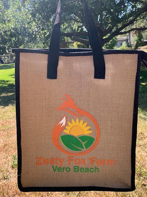 Zesty Fox Insulated Produce Bag