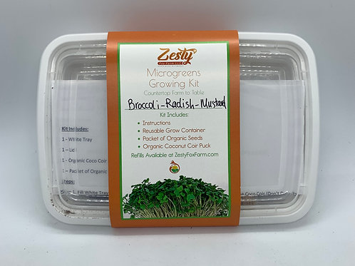 Microgreens Grow Kit Variety Pack