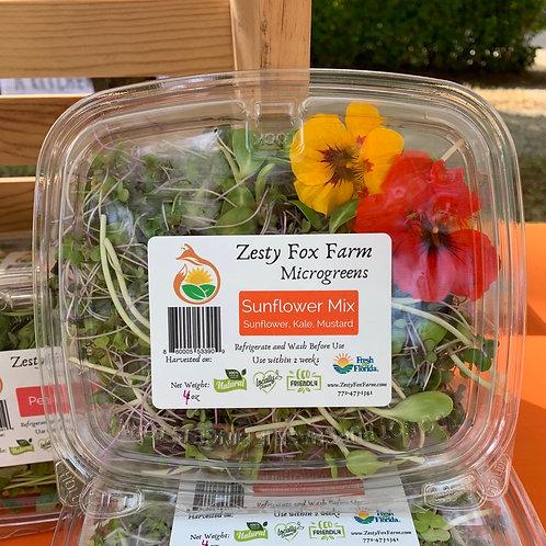 Gourmet Sunflower Salad Mix