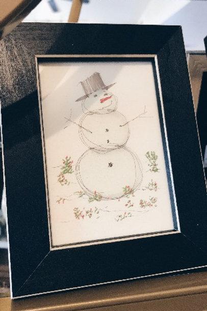 Framed Christmas Art