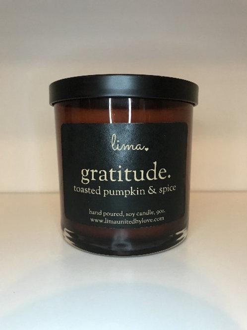 Fall Candle - Gratitude