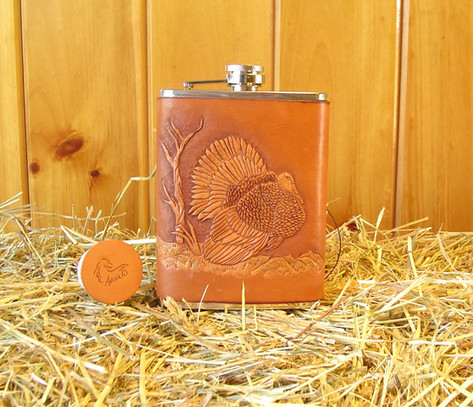Wild Turkey Flask