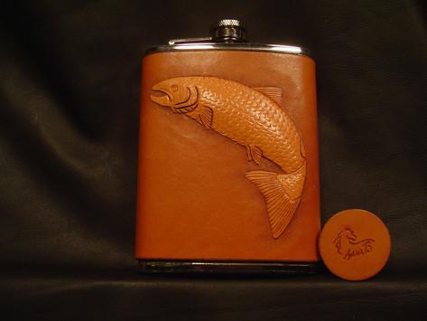 King Salmon Flask