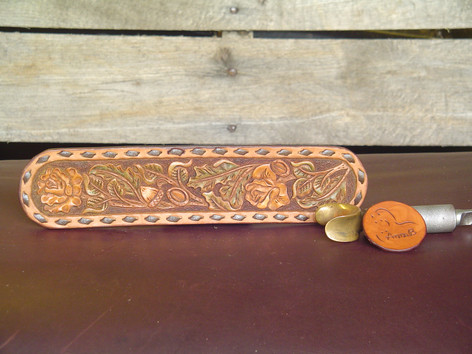 Rose and Oak Belt Pattern