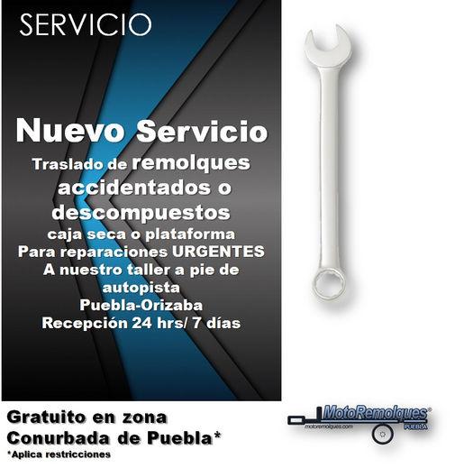 Servicios de traslado de remolques accidentados o descompuestos
