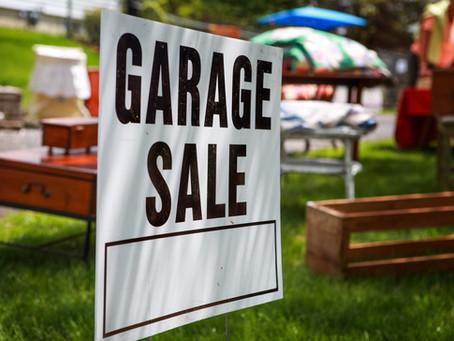 Garage Sale 2019!