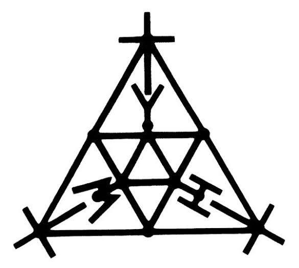 Símbolo poderoso Yehoshua