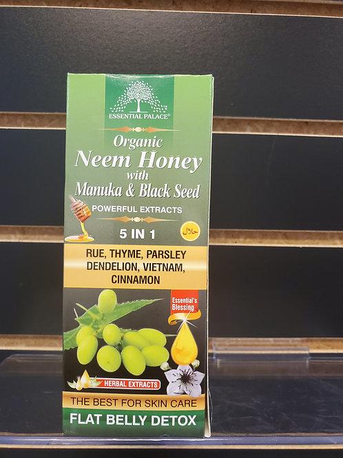 Organic Neem Honey with Manuka & Black Seed