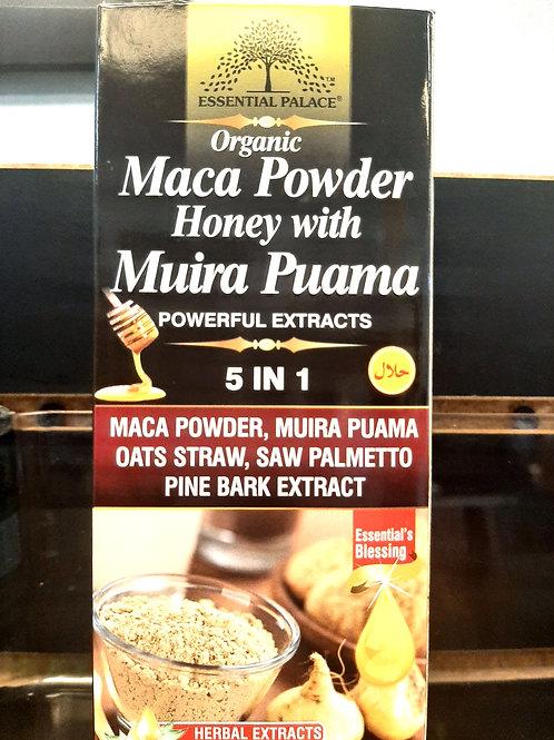 Organic Maca Powder Honey with Muira Puma