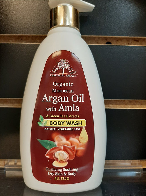 Organic Moroccan Argan Oil with Amla & Greet Tea Body Wash