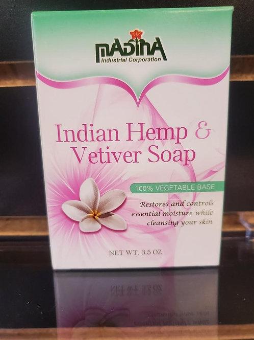Indian Hemp & Vetiver Soap