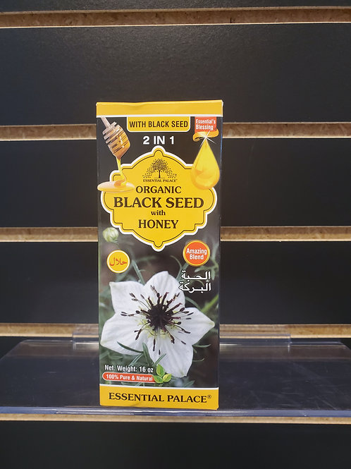 Organic Black Seed with Honey