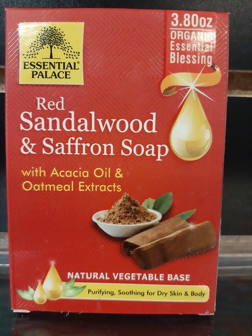 Red Sandalwood & Saffron Soap