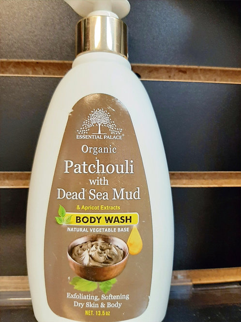 Organic Patchouli with Dead Sea Mud & Apricot Extract Body Wash