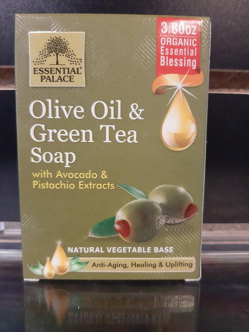 Olive Oil & Green Tea Soap