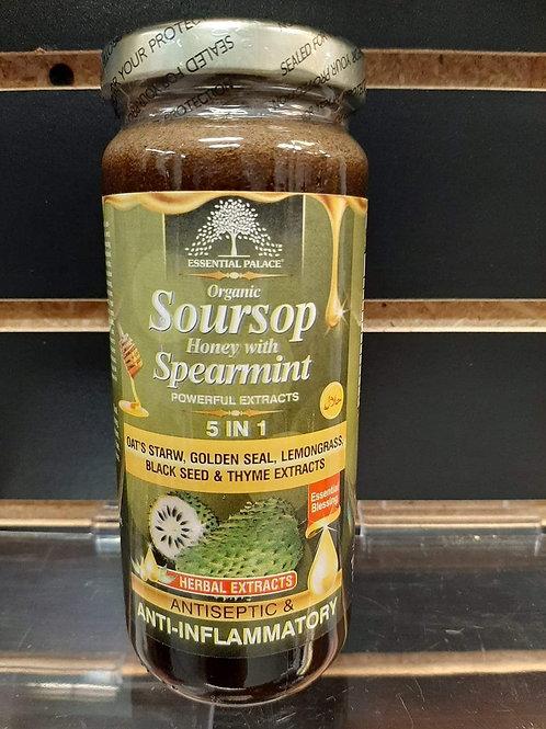 Organic Soursop Honey with Spearmint