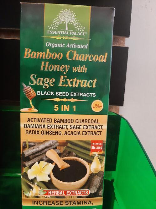 Organic Bamboo Charcoal Honey