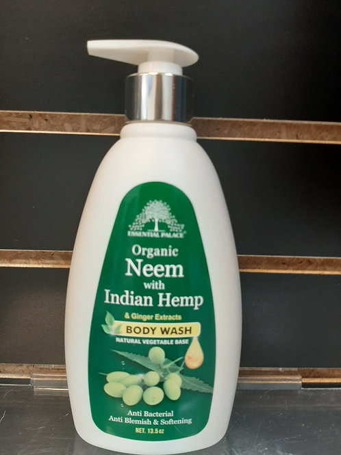 Organic Neem with Indian Hemp & Ginger Extract Body Wash