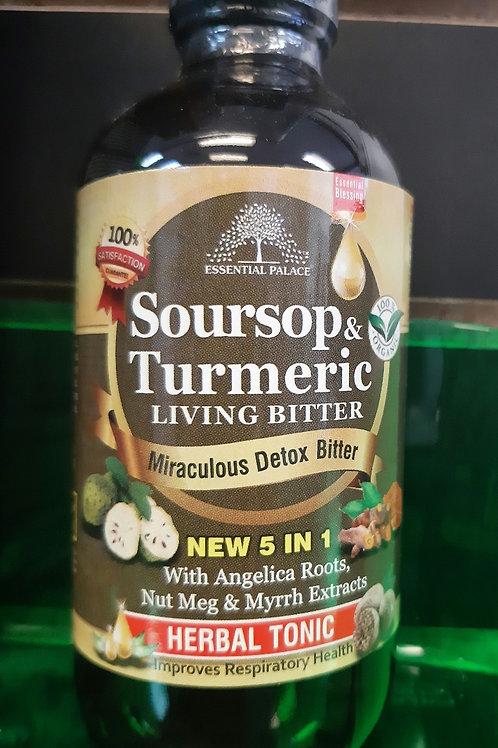 Organic Soursop & Turmeric Living Bitters