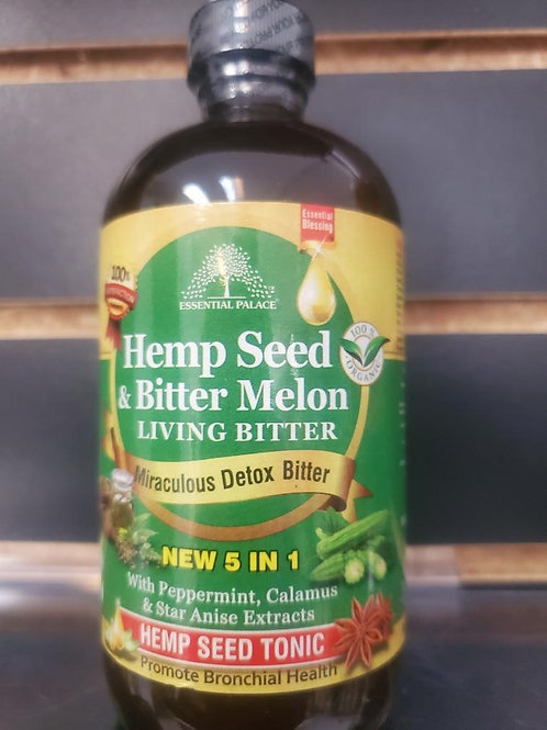 Organic Hemp Seed & Bitter Melon