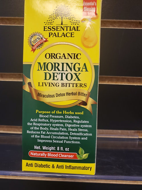 Organic Moringa Detox Living Bitters