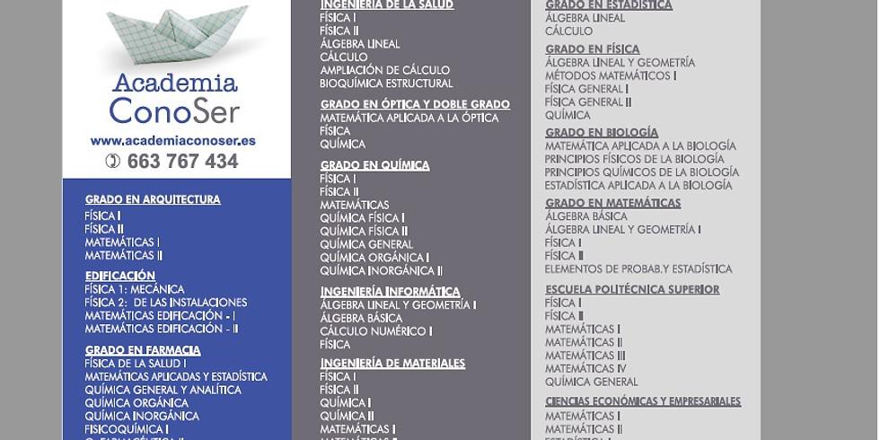RESERVA DE PLAZA UNIVERSIDAD VERANO 2020