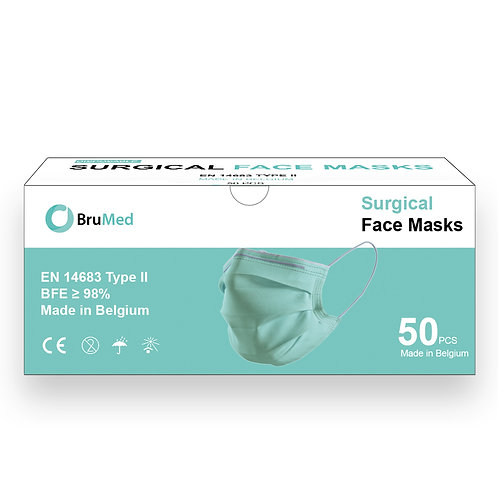 Surgical mask Type II (BFE > 98%)