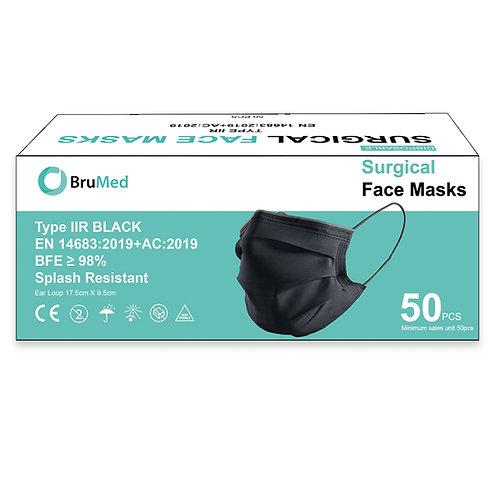 Chirurgisch Masker Type IIR - Zwart