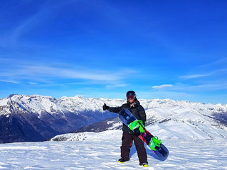 Website Launch: Why pack your snowboards in August?