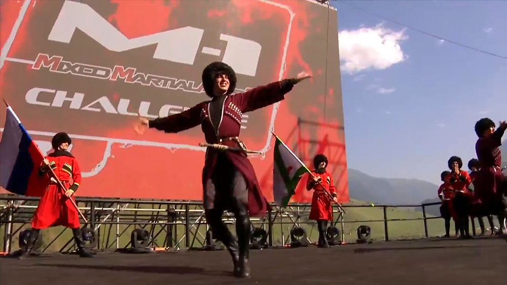 Traditional dancing in the Caucasus region - these guys were unbelievable!