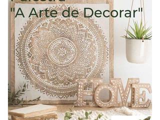 """ARTENOVA SUL PROMOVE PALESTRA """" A ARTE DE DECORAR"""" em março em várias cidades do RS e SC"""