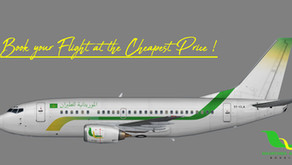 Mauritania Airlines, How to Book a Flight