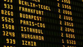 Mauritania Airlines, Horario de Todos los Vuelos