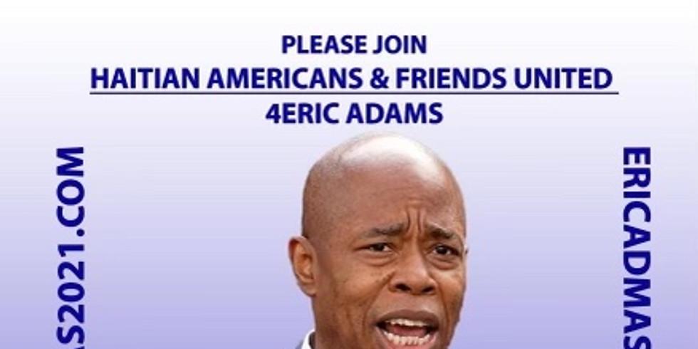 Eric Adams For NYC Mayor