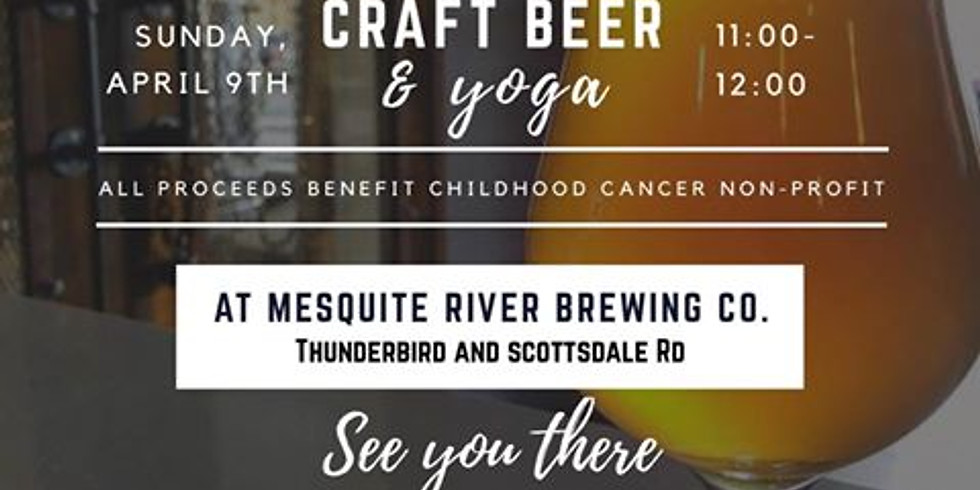 Craft Beer and Yoga