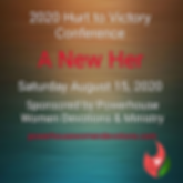 2020 Hurt to Victory Conference Flier Pr
