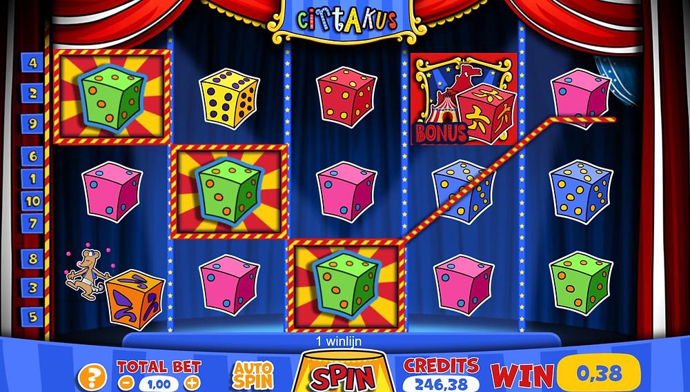 Blog LuckyGames.be - Gaming1 Dice Slot Cirtakus